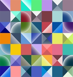 Rectangle seamless pattern abstract background vector