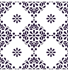 Seamless old style pattern Vintage background vector image