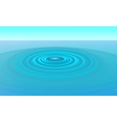 Ripples in water vector