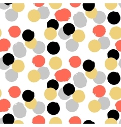 Ditsy polka dot pattern vector