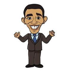 president barack obama vector image