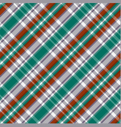 Diagonal tartan seamless texture in red different vector