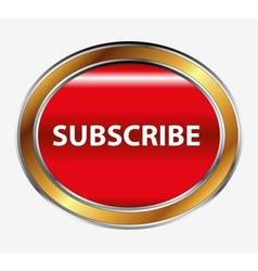 Subscribe button vector