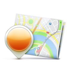 navigation concept vector image