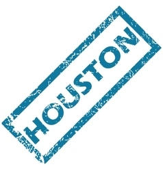 Houston rubber stamp vector