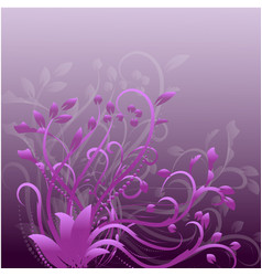 abstract decorative frames pink and purple vector image vector image