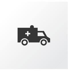 Brougham icon symbol premium quality isolated bus vector