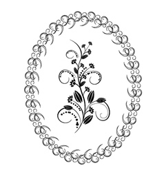 Flowers florishes 2 vector