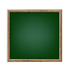 Green Chalk Board vector image vector image