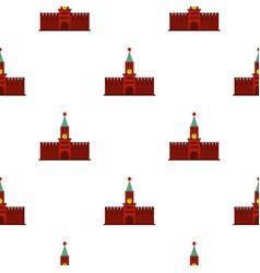 Kremlin pattern flat vector