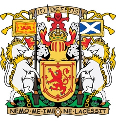 Scotland coat-of-arms vector