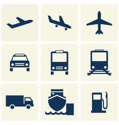 Tranport icon vector