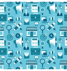 marketing pattern vector image