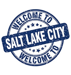 Welcome to salt lake city vector