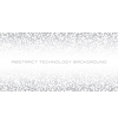 Gray pixel horizontal background vector