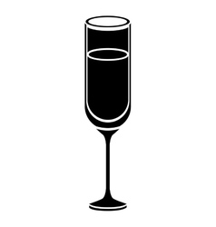 Isolated alcohol cup design vector