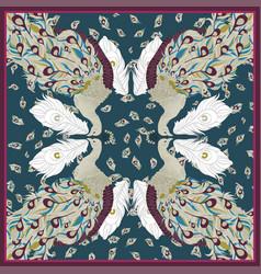 pavlin scarfs vector image vector image