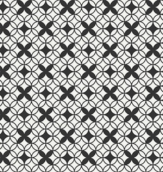 Seamless geometric abstract pattern background vector image