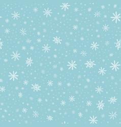 snowflake pattern - snowflake pattern vector image vector image