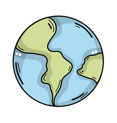 Global earth planet and geography ubication vector