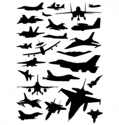 war plane vector image