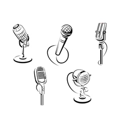 Isolated microphones vector