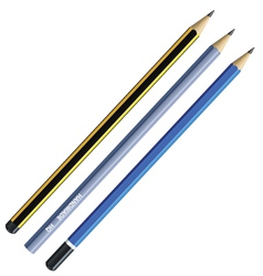 Realistic pencil vector