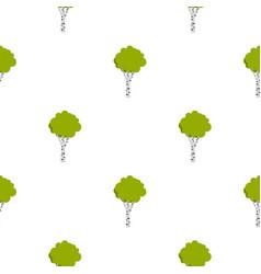 Birch pattern flat vector