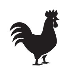 cock icon vector image