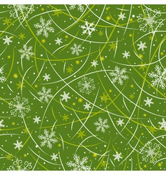 Green wrapping christmas paper vector