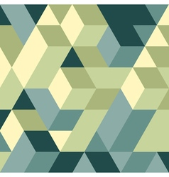 Abstract 3d background Wall of cubes vector image