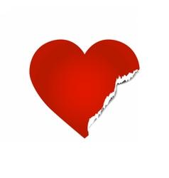 brokenheart vector image