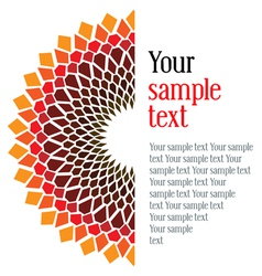 design an original card vector image