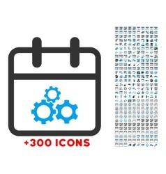 Mechanics day icon vector
