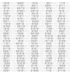 white code background vector image vector image