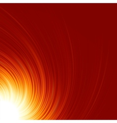Abstract glow twist with fire flow eps 8 vector