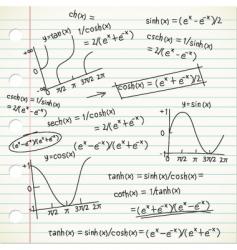 math formula vector image