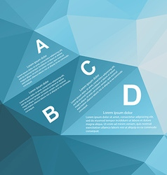 Geometry infographic vector
