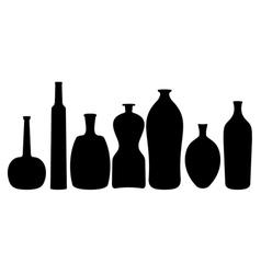 Different bottles vector
