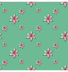 FlowerPattern2 vector image vector image