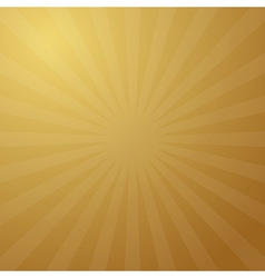Abstract Retro Golden Background vector image vector image