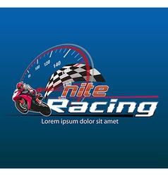 Motor racing vector
