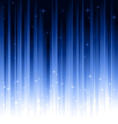 stars blue vertically striped background vector image vector image
