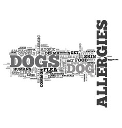 When your dog starts to sneeze text word cloud vector
