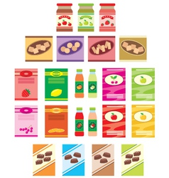 Set of packings of products vector