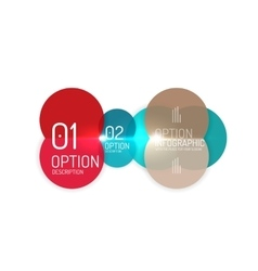 Business products option banners vector image