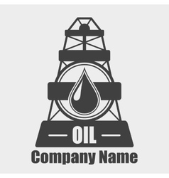 Oil Company Logo vector image