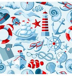 Sea icon 1 03 vector image