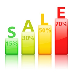 Sale graph vector