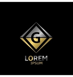 Letter g logo vector